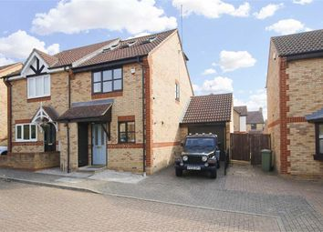 Thumbnail 3 bed semi-detached house for sale in Durlston End, Tattenhoe, Milton Keynes