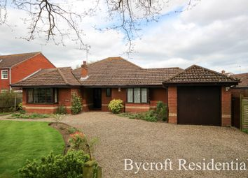 Thumbnail 4 bed detached bungalow for sale in Private Road, Ormesby, Great Yarmouth