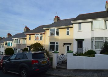 Thumbnail 3 bed terraced house to rent in Ganges Road, Stoke, Plymouth