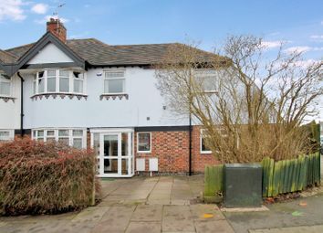Thumbnail 4 bed semi-detached house for sale in Overdale Road, Knighton, Leicester