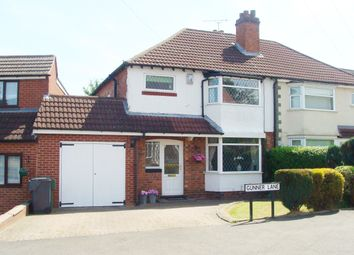 Thumbnail 3 bed semi-detached house for sale in Gunner Lane, Rubery