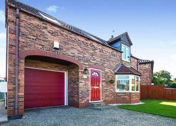 Thumbnail 3 bed detached house for sale in Storking Lane, Wilberfoss, York, East Riding Of Yorkshi