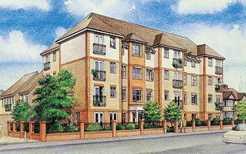 Thumbnail 1 bed flat for sale in 147 Christchurch Avenue, Middlesex