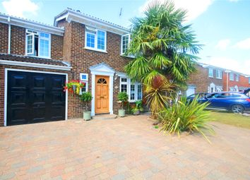 Thumbnail 4 bed semi-detached house for sale in Chertsey, Surrey