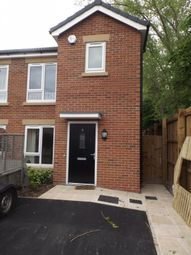 Thumbnail 2 bed semi-detached house to rent in Peter Moss Way, Levenshulme, Manchester