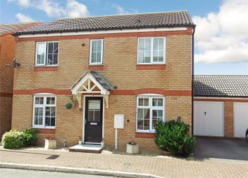 Thumbnail 4 bed detached house for sale in Clover Way, Syston, Leicester, Leicestershire