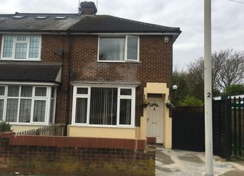 Thumbnail 2 bed end terrace house to rent in Stapleford Road, Luton