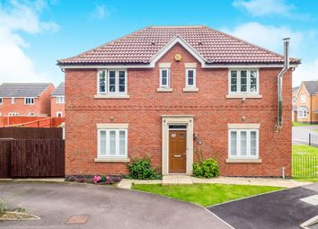 Thumbnail 4 bedroom detached house for sale in Girton Way, Mickleover, Derby