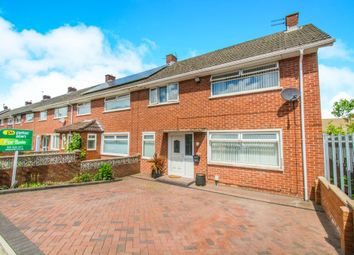 Thumbnail 3 bedroom end terrace house for sale in Heol Y Castell, Ely, Cardiff