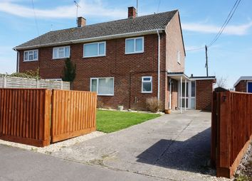 Thumbnail 3 bed semi-detached house for sale in Hungerford Road, East Grafton, Marlborough