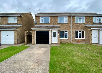 Thumbnail 3 bed semi-detached house for sale in Braemar Close, Stamford