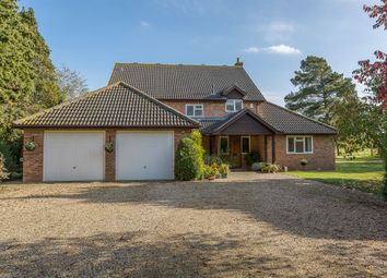 Thumbnail 4 bed detached house for sale in Ashfield Road, Elmswell, Bury St. Edmunds