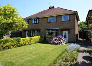 Thumbnail 3 bed semi-detached house for sale in Leicester Road, Ibstock