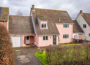 Thumbnail 4 bed link-detached house for sale in High Road, Leavenheath, Colchester