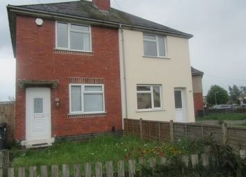 Thumbnail 2 bed semi-detached house to rent in Regent Street, Bedworth, Warwickshire