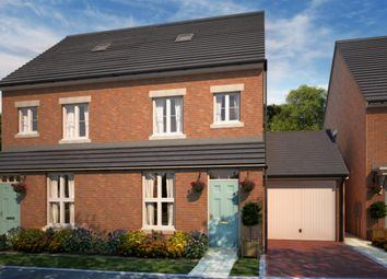 "Thumbnail 3 bed semi-detached house for sale in ""Gibson"" at Whitworth Park Drive, Houghton Le Spring"
