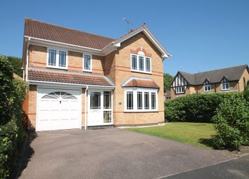 Thumbnail 4 bed detached house for sale in Cornbury Grove, Shirley, Solihull