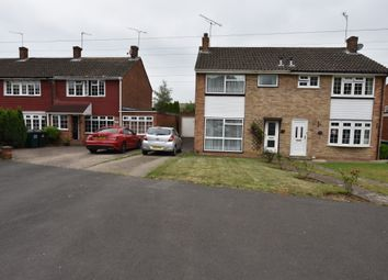 Thumbnail 3 bed semi-detached house for sale in Cranefield Drive, Watford