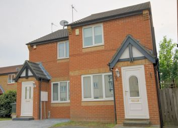 Thumbnail 2 bedroom semi-detached house for sale in Ambergate Close, Newbiggin Hall, Newcastle Upon Tyne