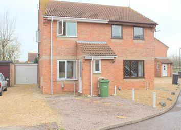 Thumbnail 2 bedroom semi-detached house to rent in Wycliffe Grove, Peterborough