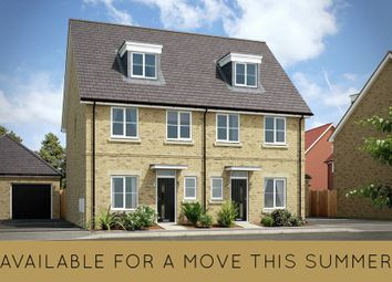 "Thumbnail 4 bedroom semi-detached house for sale in ""The Kearfield"" at London Road, Calverton, Milton Keynes"