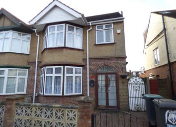 Thumbnail 3 bed semi-detached house to rent in Durham Road, Luton