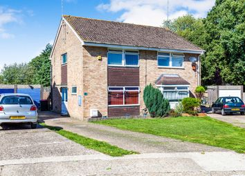 Thumbnail 3 bed semi-detached house for sale in Canvey Close, Crawley