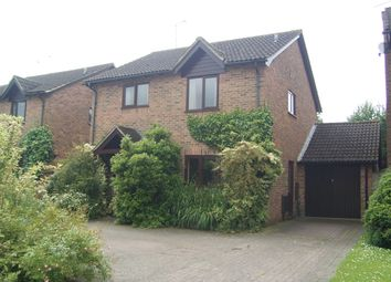 Thumbnail 4 bed detached house for sale in Combe View, Hungerford