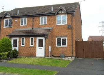 Thumbnail 3 bed semi-detached house to rent in Berkshire Drive, Grantham