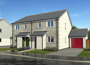 Thumbnail 2 bedroom semi-detached house for sale in Gwel Kann, Trevelyan Road, Illogan, Redruth