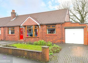 Thumbnail 4 bed semi-detached bungalow for sale in Kings Gardens, Leigh, Greater Manchester.