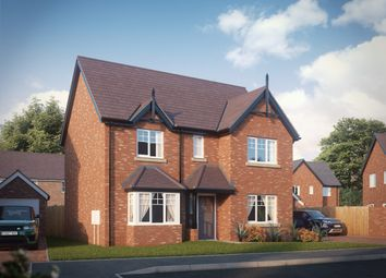 Thumbnail 4 bed detached house for sale in Shrewsbury Road, Bomere Heath