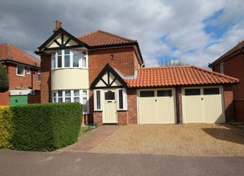 Thumbnail 3 bedroom detached house for sale in Patricia Road, Norwich