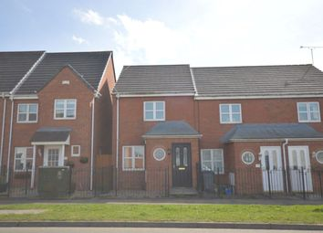 Thumbnail 2 bed terraced house for sale in Waterworks Road, Coalville