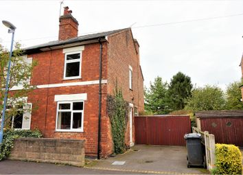 Thumbnail 2 bed semi-detached house for sale in North Avenue, Mickleover