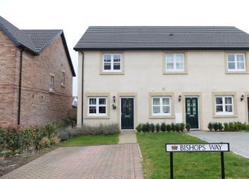 Thumbnail 2 bed semi-detached house for sale in Bishops Way, Dalston, Carlisle