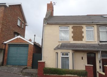 Thumbnail 1 bed semi-detached house for sale in Guys Road, Barry
