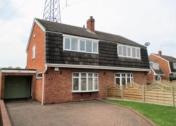 Thumbnail 3 bedroom semi-detached house for sale in Cinder Hill Lane, Coven, Wolverhampton