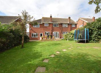 Thumbnail 5 bedroom semi-detached house for sale in Herbert Road, Hextable, Kent