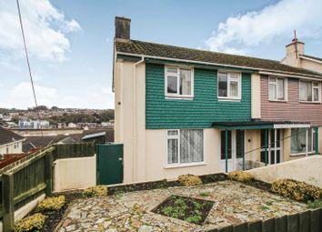 Thumbnail 3 bed end terrace house for sale in Torridge Mount, Bideford, Devon