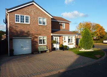 Thumbnail 4 bed detached house for sale in Hauxley Drive, Cramlington