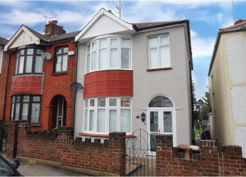 Thumbnail 3 bed end terrace house for sale in Carlton Avenue, Gillingham