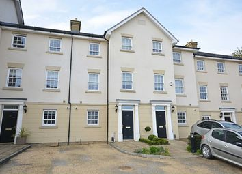 Thumbnail 4 bed terraced house to rent in Florence Court, North Road, Hertford