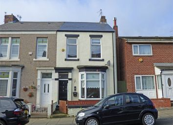 Thumbnail 3 bed end terrace house for sale in Pollard Street, South Shields, Tyne And Wear