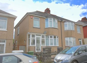 Thumbnail 3 bedroom semi-detached house for sale in Birchfield Avenue, Beacon Park, Plymouth