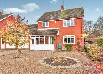 Thumbnail 3 bed link-detached house for sale in Dereham Road, Mattishall, Dereham