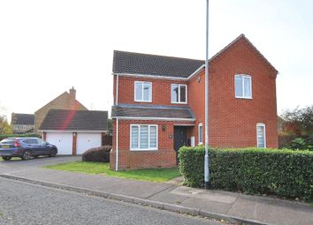 Thumbnail 4 bed detached house for sale in Ivy Way, Spaldwick, Huntingdon