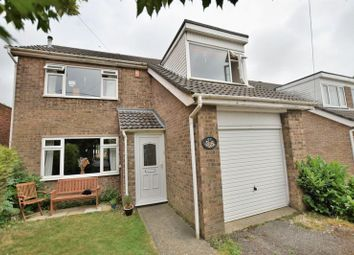 Thumbnail 4 bed end terrace house for sale in Pitts Road, Washingborough, Lincoln