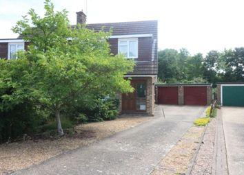 Thumbnail 4 bed semi-detached house to rent in Moore Grove Crescent, Egham