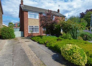 Thumbnail 3 bed semi-detached house for sale in Manor Road, Beverley